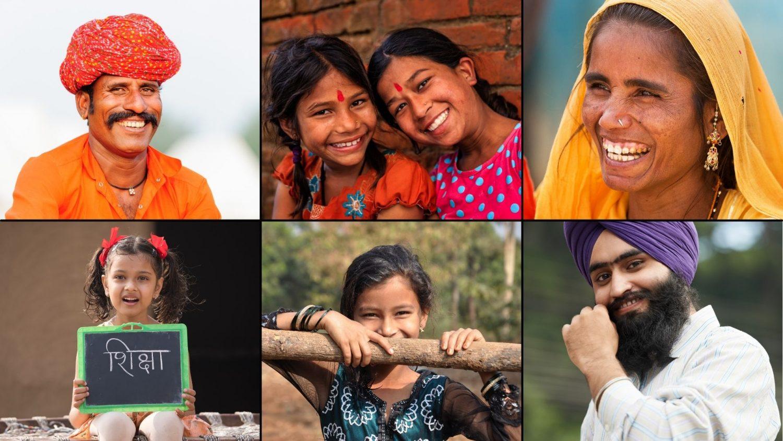 group of people of indian origin